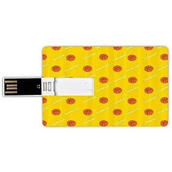 32GB Forma de tarjeta de crédito de unidades flash USB Baloncesto ...