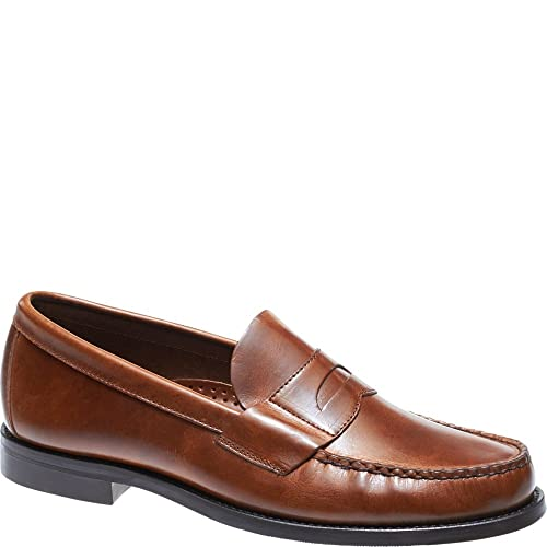 e8d27fc56a4 Sebago Men s Heritage Penny Leather Loafers Brown in Size UK 11.5 E   Amazon.co.uk  Shoes   Bags