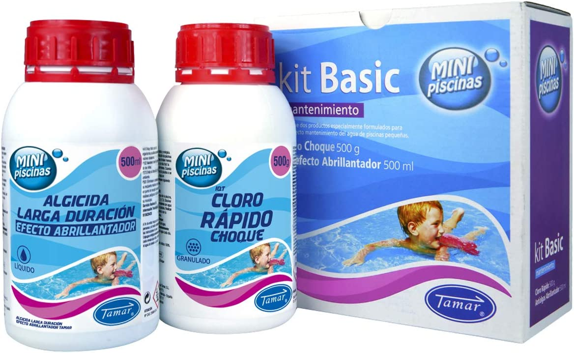 Tamar - Kit Básico Mantenimiento Mini Piscinas