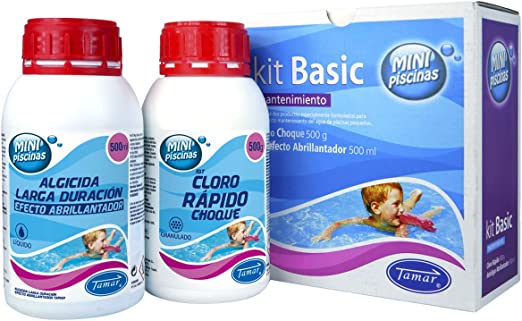 Tamar - Kit Básico Mantenimiento Mini Piscinas: Amazon.es: Jardín