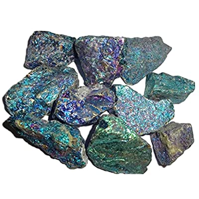 Sublime Gifts Chalcopyrite Peacock Ore A Grade from Mexico ( 2 Ounce Bag ) Crystal Healing Gemstone Wicca and Reiki Stones Small Sized Pieces: Toys & Games [5Bkhe0504957]