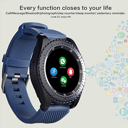 Amazon.com: haixclvyE Y3 Touch Screen SmartWatch,Support ...