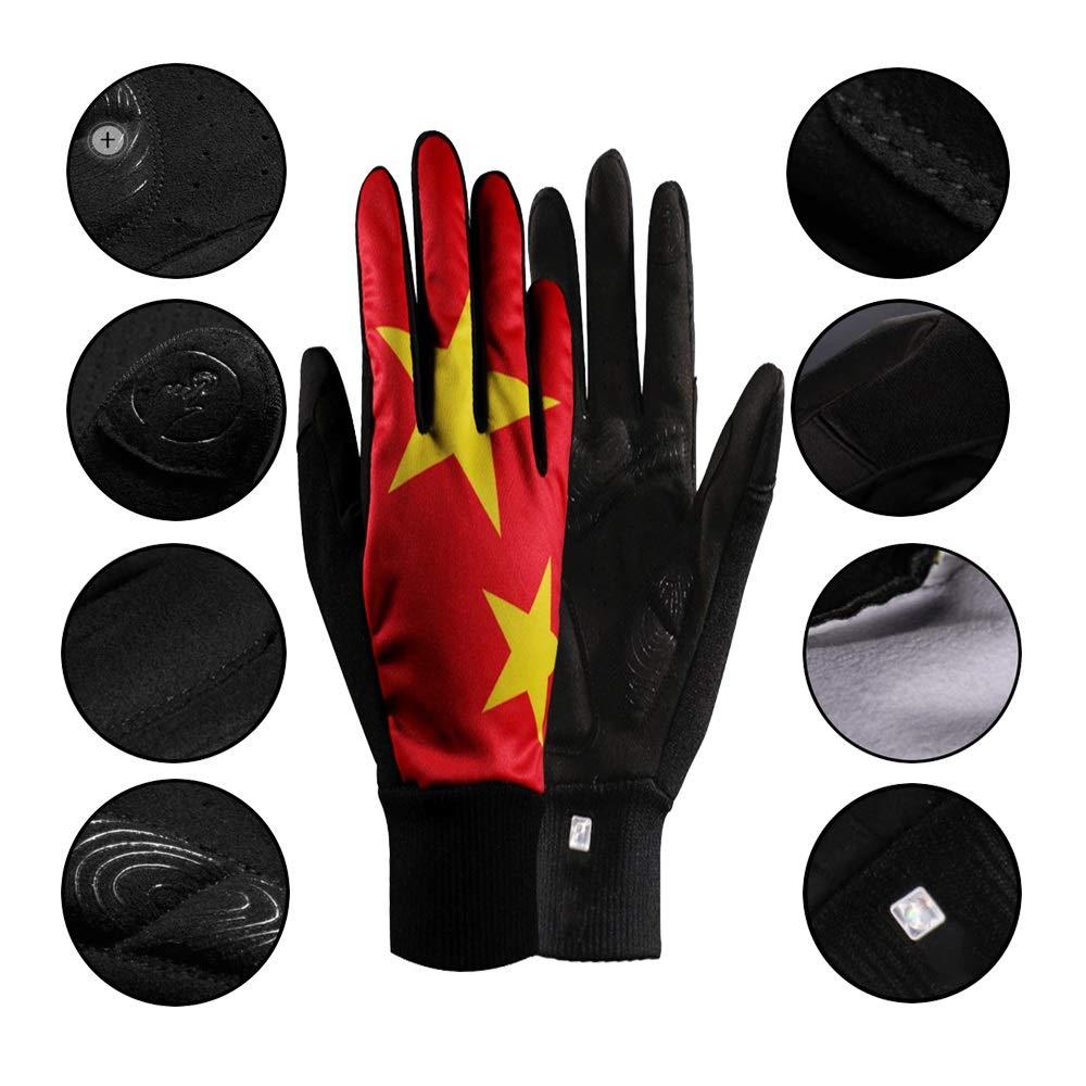 Lyq&ydst Sport-Handschuhe Qualitäts-Anti-Rutsch-stoßabsorbierendes Fitness-Handschuhe Ski & Bergsteigen & Reise & Fitness & Einen.Kreislauf.durchmachenhandschuh