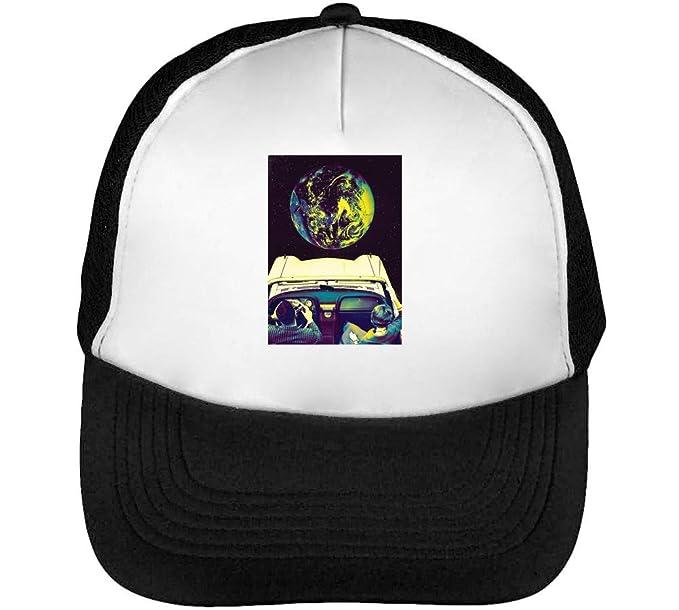 Lsd Trip To Moon Gorras Hombre Snapback Beisbol Negro Blanco: Amazon.es: Ropa y accesorios