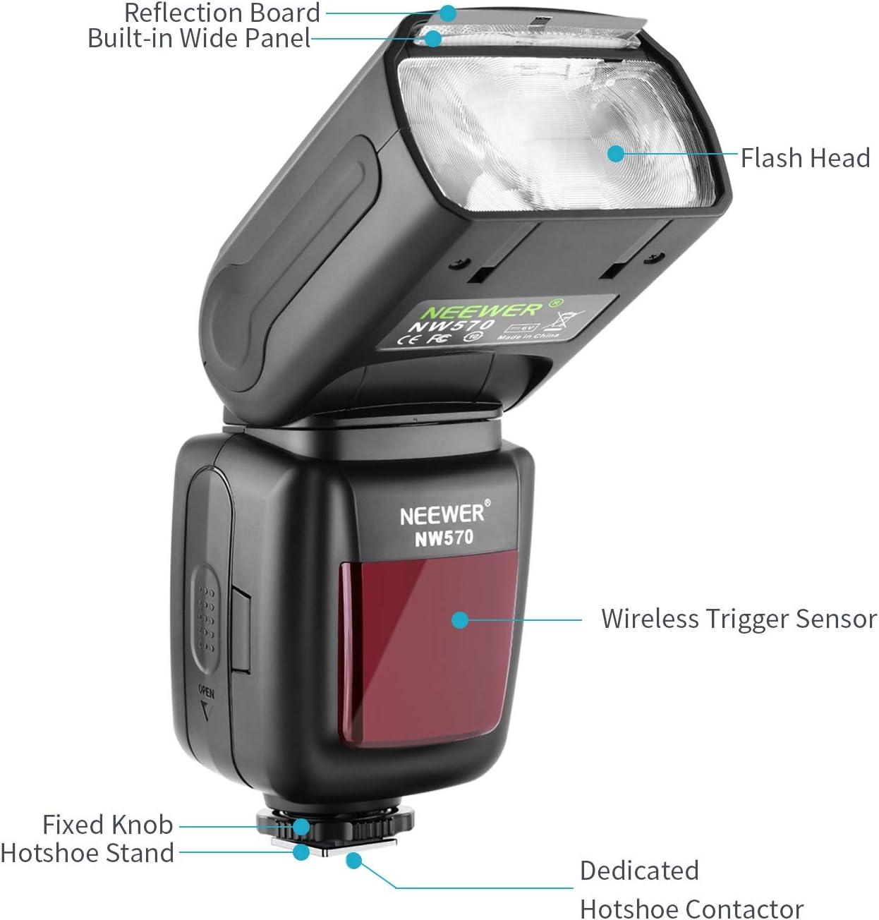 Neewer Flash Speedlite Mit 2 4 G Wireless System 15 Kamera