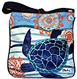 Seaside Treasures Blue Turtle Cross Body Messenger Shoulder Bag