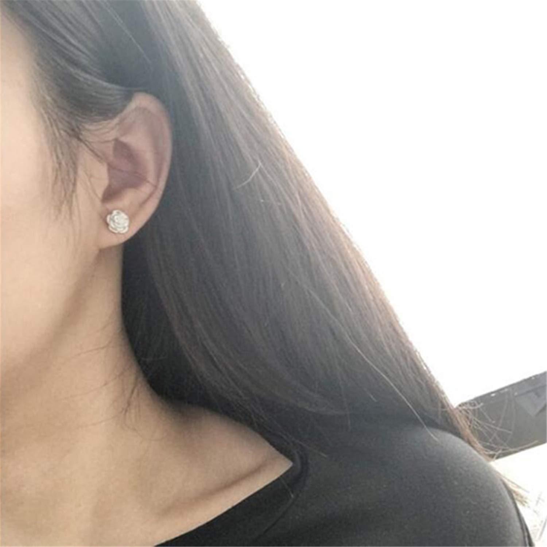 Korean Fashion Earrings Small Daisy Flowers Senior Flower Earrings Female Jewelry e048