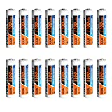 PowerDriver NiMH Ni-MH AAA Rechargeable Batteries, 1100 mAh,1.2V, Pre-Charged (16)