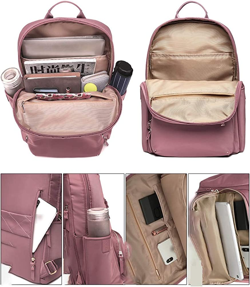 MJCBJBB Backpack Female New Fashion Computer Bag Female Large Capacity Nylon Oxford Cloth Super Fire Backpack