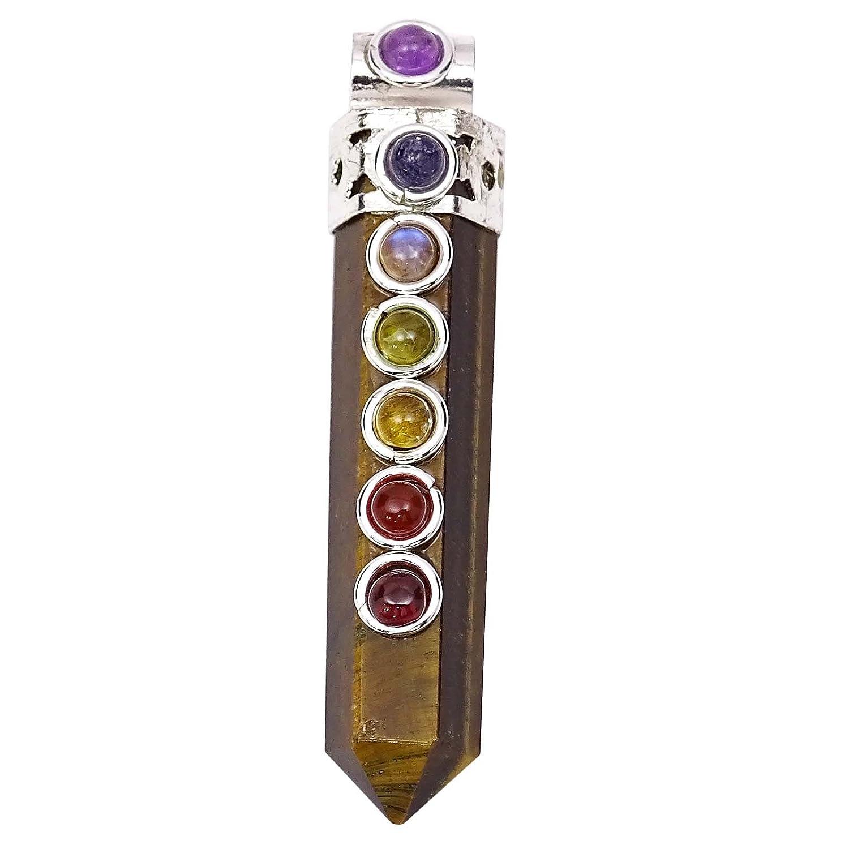 1stück Heilkristall Anhänger Heilsteine Heilung Reiki Chakra Reiki Crystal