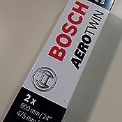 Bosch 3397007072 Aerotwin A072S - Limpiaparabrisas (600/475 mm)