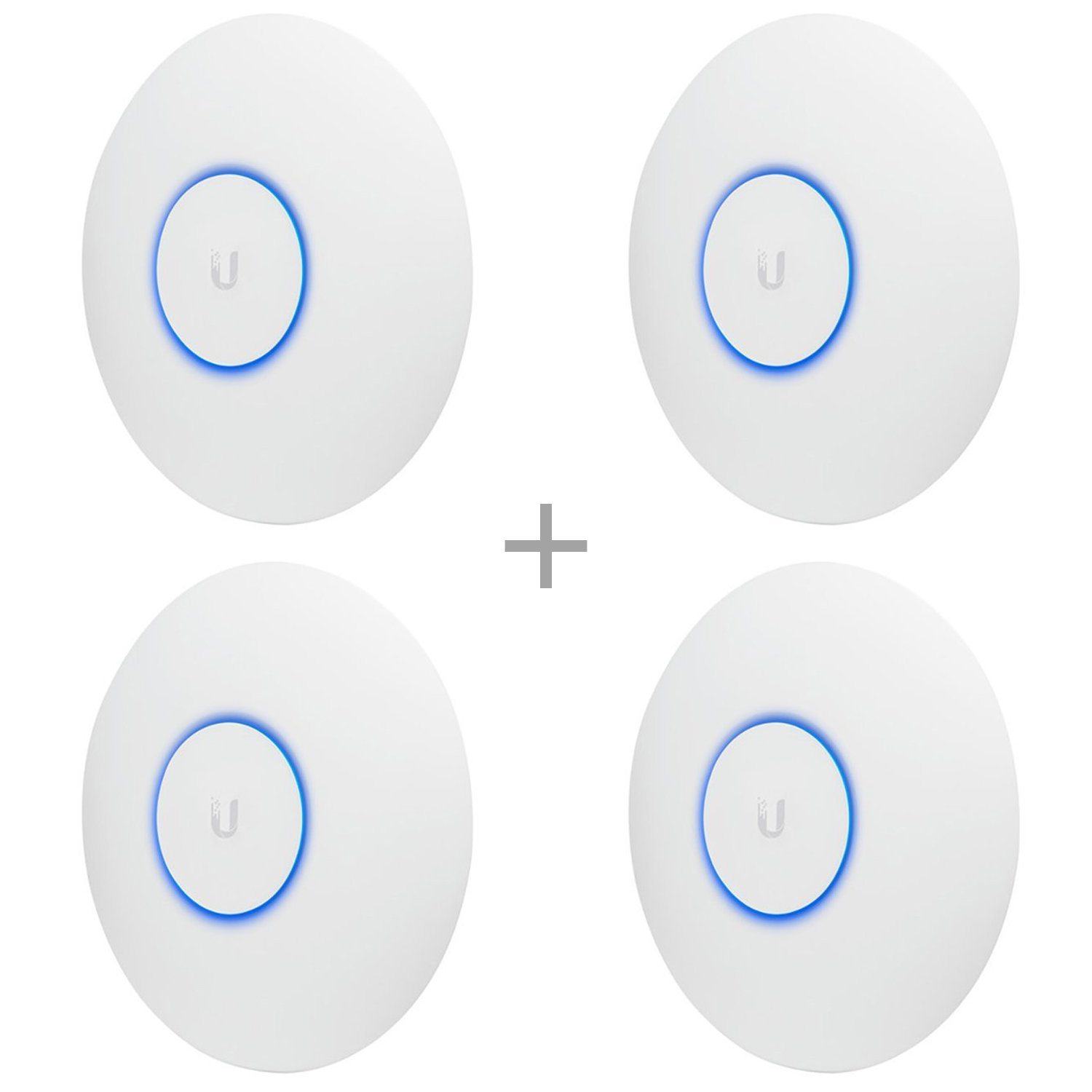 Ubiquiti Networks UAP-AC-PRO-E Access Point (No PoE Included In Box) 4-Pack Bundle