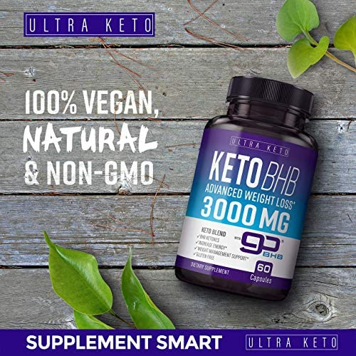 Best Keto Diet Pills - Utilize Fat for Energy with Ketosis - Boost Energy & Focus, Manage Cravings, Support Metabolism - Keto BHB Supplement for Women and Men - 30 Day Supply 6