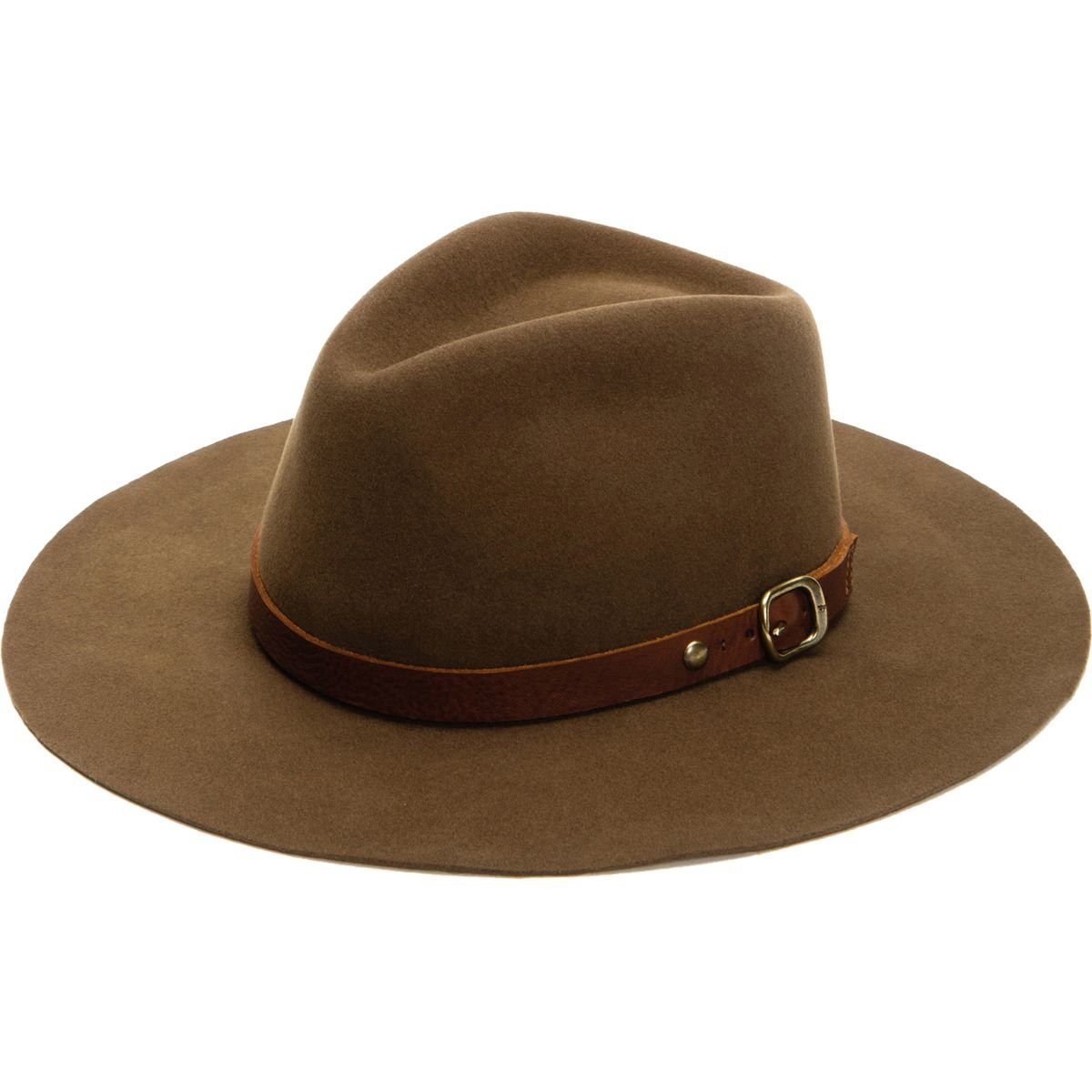 Frye Campus Hat - Women's Chestnut, S by FRYE