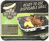 Super Grill Ready-To-Use Disposable Grill- 2 pack