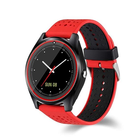 Pantalla Smart GPS WiFi Tracker Localizador Reloj Anti-Perdido para Niños Elder Child Student Smartwatch con SOS Remote Monito,Red: Amazon.es: Deportes y ...