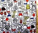 <Qキャラクター・キルティング生地>ミッフィー(ミフィー・ミィフィー) (オフ)#25 ( 2018-2019)(キルティング キルト キャラクター キルティング生地 布 入園 入学 ピロル)の商品画像
