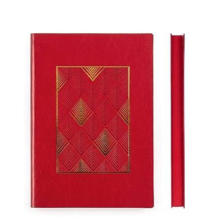 A5 A6 B5 Cuaderno De Notas De Cuero Suave, B5 Marrón: Amazon ...
