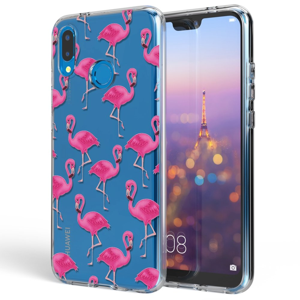 Ultra-Fine Souple Gel Anti-Choc Bumper Mince Etui NALIA Coque Protection Compatible avec Huawei P20 Lite Motif Housse Silicone Premium Case Smart-Phone Back-Cover Designs:Dreamcatcher