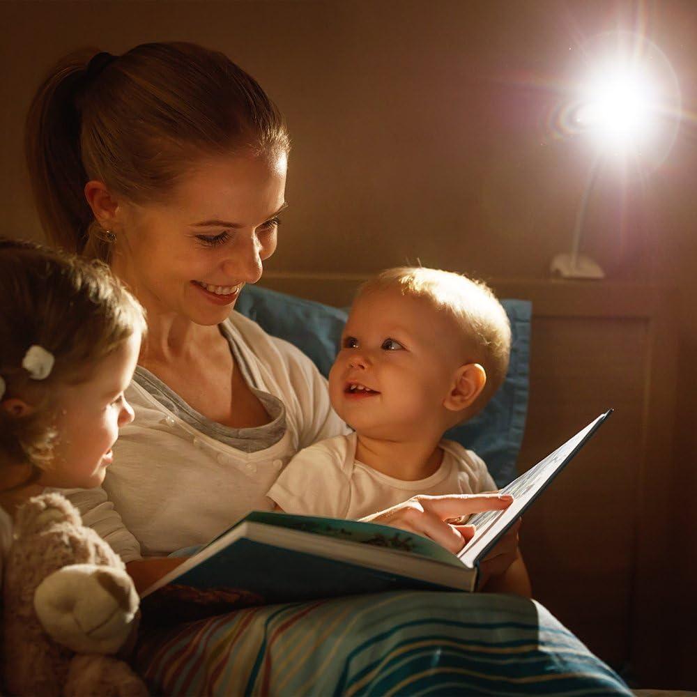 WYZQ Lámpara de Mesa Luz de Escritorio LED Proteger los Ojos
