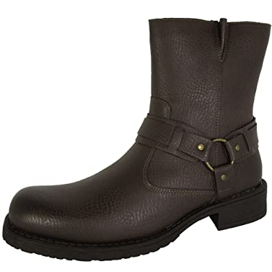 aef2cc706d3 Resolve by Robert Wayne Mens Griff Harness Boot Shoes