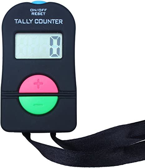 NEW DOORMAN POLICE Chrome TALLY COUNTER SECURITY