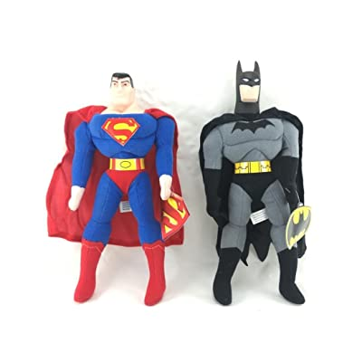"DC Batman vs Superman 12"" Original Licensed Plush Set: Toys & Games"