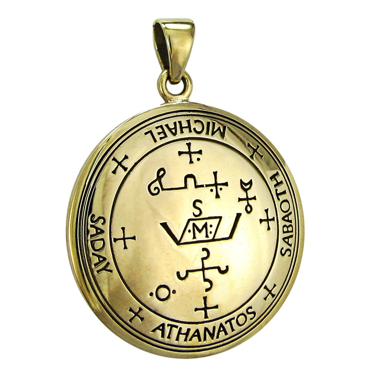Amazon bronze sigil of archangel michael enochian talisman amazon bronze sigil of archangel michael enochian talisman jewelry biocorpaavc Images