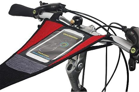 Accesorio de entrenamiento para bicicleta con rodillo y funda para ...