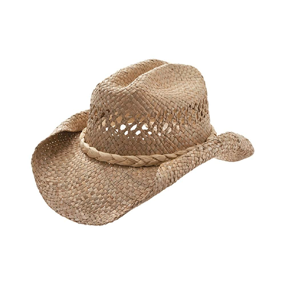 Straw Cowboy Hat-Natural Roll W35S16A 2fed5f2cce1
