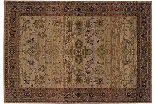 Oriental Weavers Kharma 836Y1 Area Rug, 2' x 3', Beige