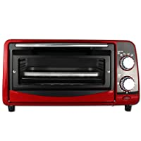 Backofen - Pizzaofen - Ofen - Backautomat 9 Liter - Mini Backofen 800W mit Farbauswahl