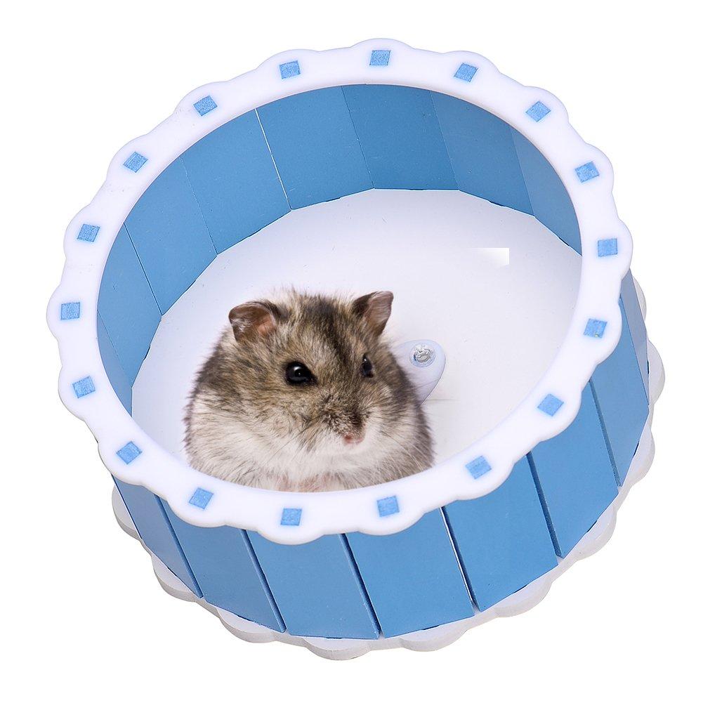Silencieux en acrylique Course Spinner Roue d'exercice pour hamster souris Rat Souris Jouet pour animal domestique chendongdong