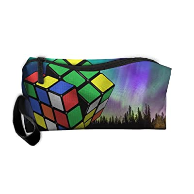 ba777d3503be hot sale 2017 Colorful Rubik s Cube Beauty Women Cosmetic Bags Portable  Travel Toiletry Pouch Makeup Organizer