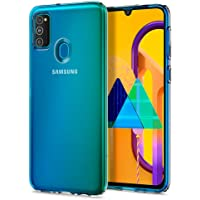 Spigen Liquid Crystal Designed for Samsung Galaxy M30S - Crystal Clear