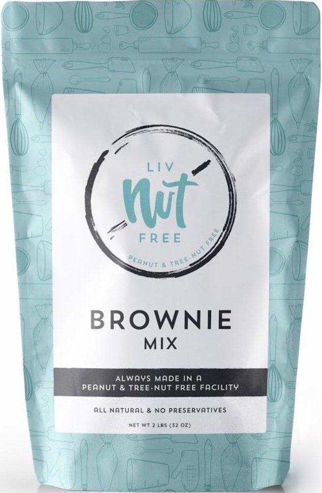 Liv Nut Free Nut-Free Brownie Mix