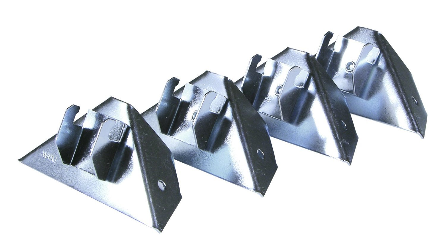 Set Of 4 Easy Mount Instant Curtain Rod Holders
