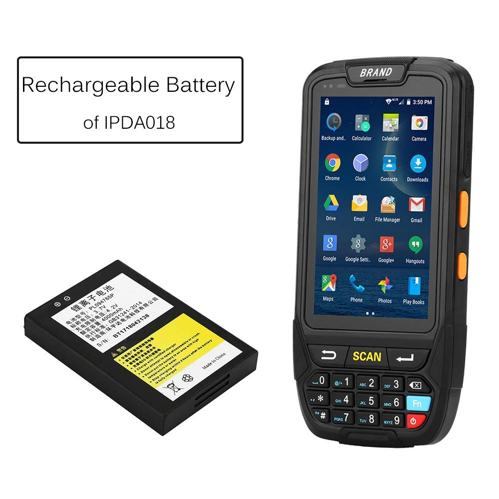 IPDA030 MUNBYN IPDA030 Rechargeable Battery for Handheld POS Terminal PDA Machine