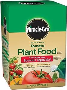 Miracle-Gro 2000422 Tomato Plant Food Tomato Fertilizer (6 Pack), 1.5 lb