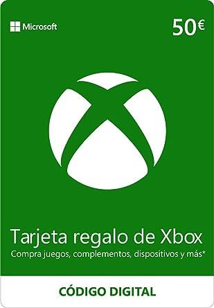 Xbox Live - 50 EUR Tarjeta Regalo [Xbox Live Código Digital ...
