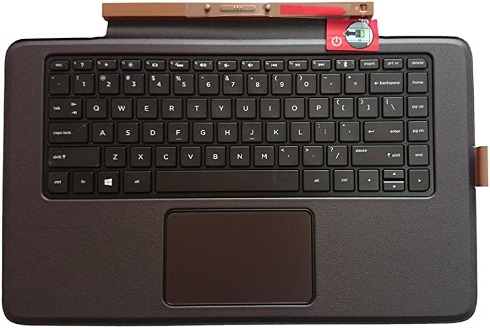 Qwerty Replacement Keyboard with Backlit for HP Envy X2 Detachable 13-J 13T-J Series Compatible SPS Number: 789321-001 796693-001