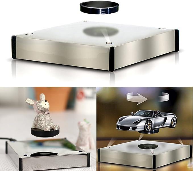 luce color Luna a levitazione magnetica a 3 pollici a levitazione magnetica a forma di luna Luna a levitazione magnetica con luce a LED per linsegnamento della decorazione della scrivania da casa