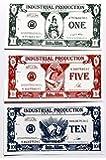 Axis and Allies Industrial Production IPC Money Sept 2 1941 Bills 1's, 5's & 10's - Lot of 135 Bills