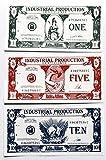 Axis and Allies Industrial Production IPC Money Sept 2 1941 Bills 1's, 5's & 10's - Lot of 45 Bills
