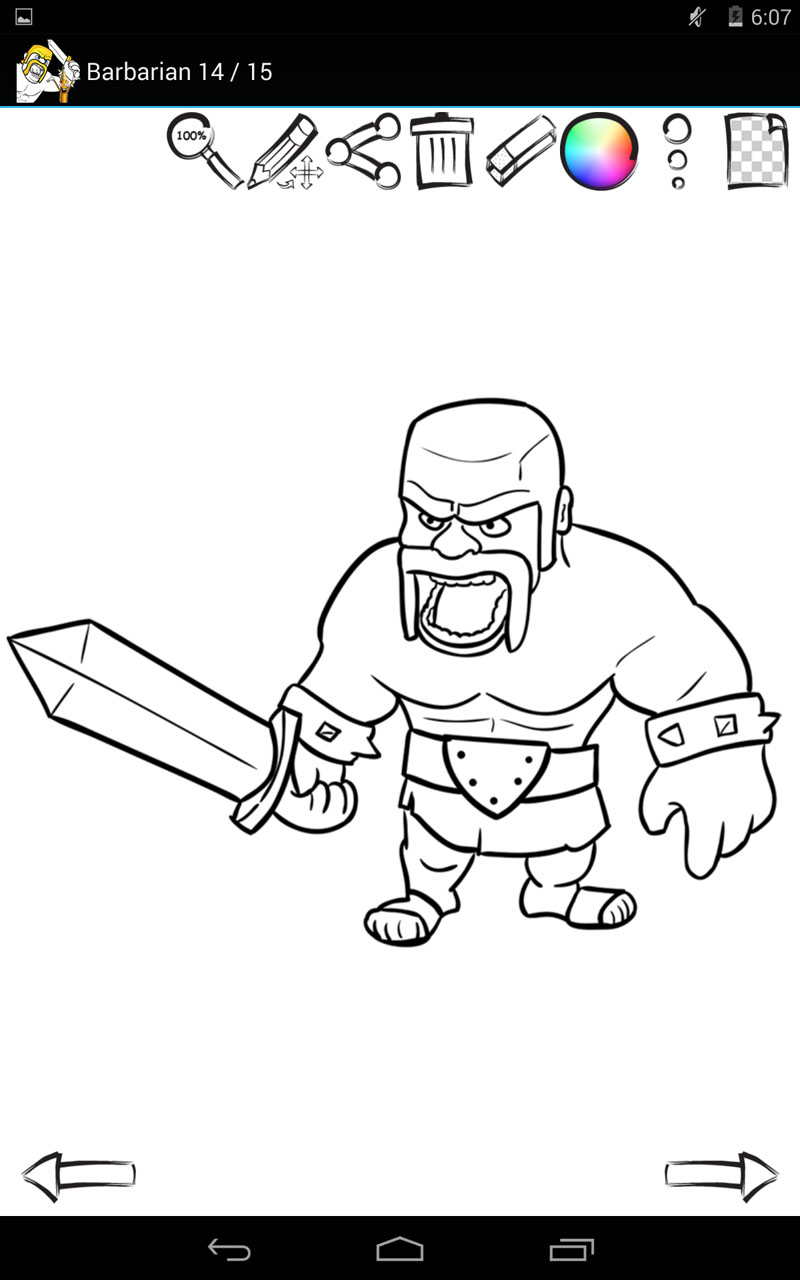 amazon com  how to draw  clash of clans  appstore for android