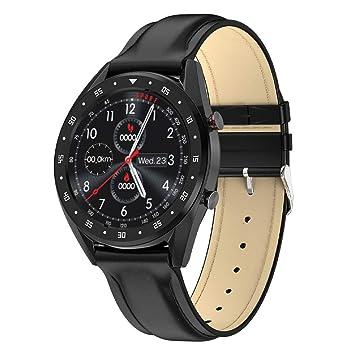FANZIFAN Reloj Inteligente Reloj Inteligente Hombre Metal ...
