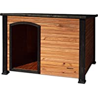 Precision Pet by Petmate Extreme Weather-Resistant Log Cabin Dog House with Adjustable…