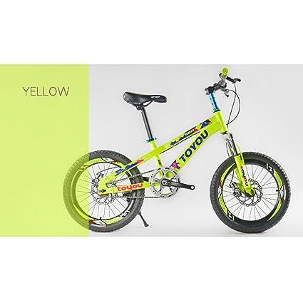 ZXC Bicicleta para niños, Bicicleta de montaña Frenos de dos ...