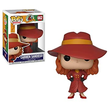 Funko POP! TV: Carmen Sandiego - Carmen Sandiego Collectible Figure, Multicolor