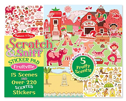 Melissa-Doug-Scratch-and-Sniff-Sticker-Pad-Fruitville-220-Fruit-Scented-Stickers